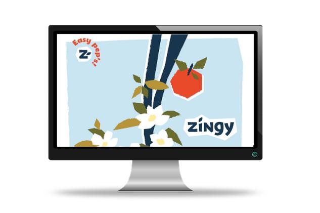 Site Zingy Une